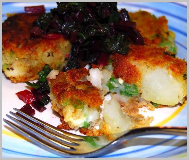 Potato lima bean cakes - holycowvegan.net