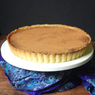 Vegan Salted Chocolate Hazelnut Tart