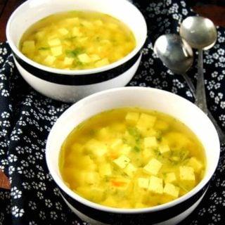 Detox Turmeric Ginger Miso Soup