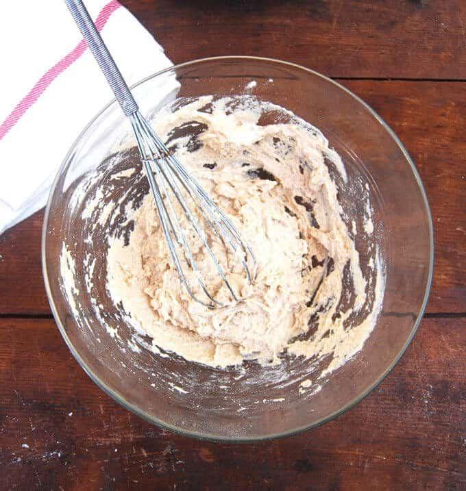 How to make sourdough starter - holycowvegan.net