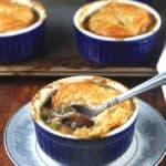 Vegan Mushroom Pot Pie - holycowvegan.net