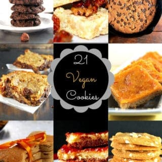 21 vegan cookies - holycowvegan.net