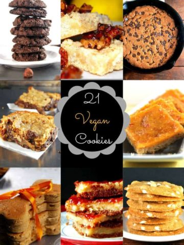 21 vegan cookies - holycowvegan.net