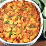Greek style baked lima beans - holycowvegan.net