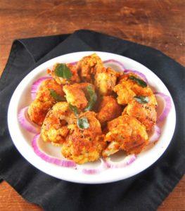 Cauliflower Bezule, roasted and stir-fried spicy cauliflower - holycowvegan.net