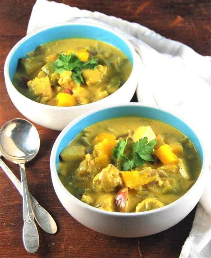 Vegan jamaican mango stew holy cow vegan recipes vegan jamaican mango stew with tempeh and thyme holycowvegan forumfinder Image collections