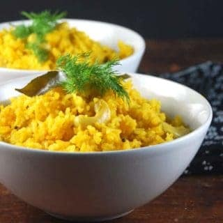 Savory Mango Pilaf with Cashews