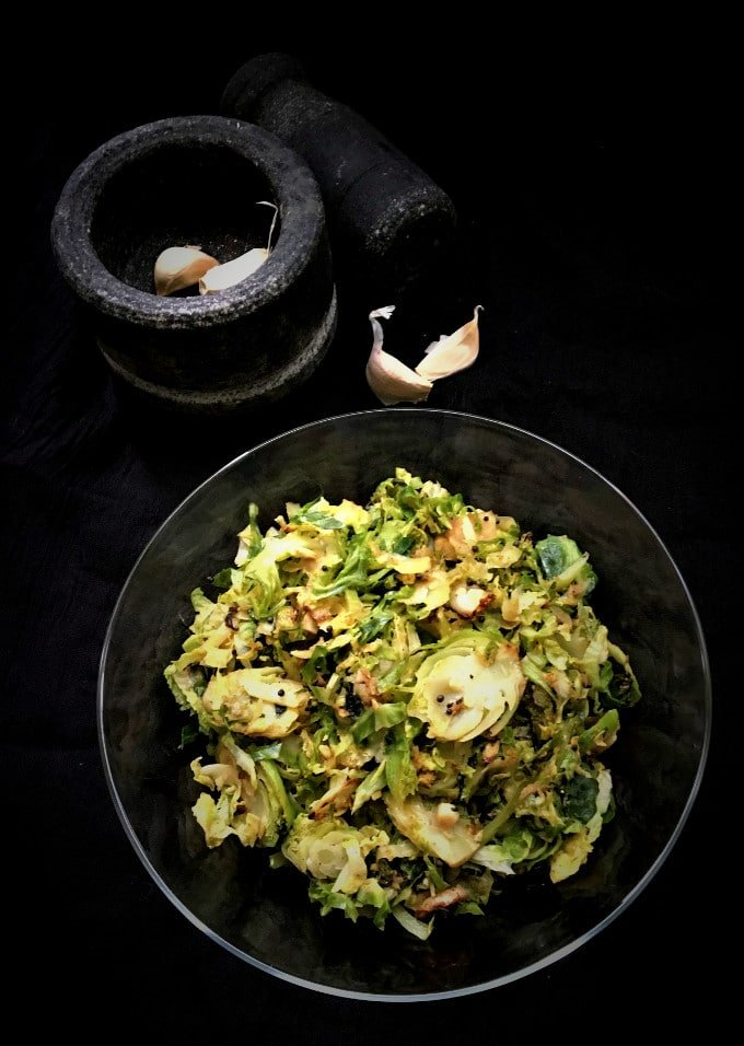15-Minute Shredded Brussels Sprouts Stir-Fry • Holy Cow ...