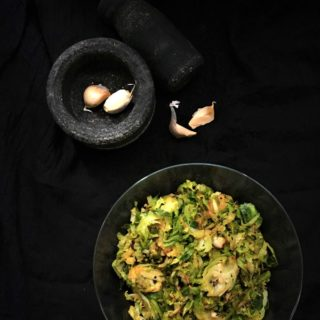 15-Minute Shredded Brussels Sprouts Stir-Fry