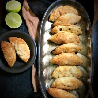 Chickpea and Kale Stuffed Empanadas