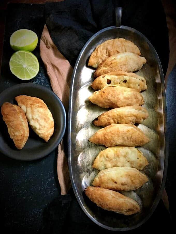 Chickpea and Kale Stuffed Empanadas