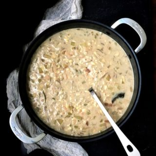 Chesapeake Chowder, veganized, and a giveaway