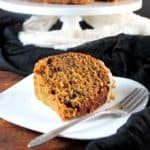 Carrot Bundt Cake with Cashew Cream Frosting