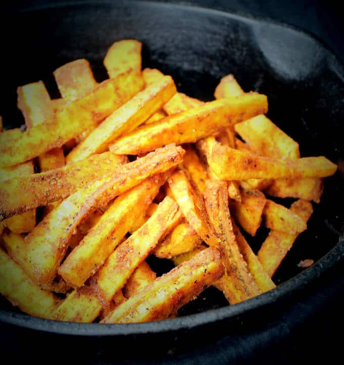 how to make french fries with baking potatoes