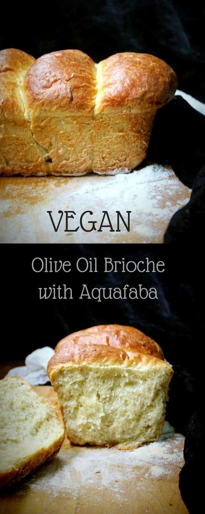 Vegan Olive Oil Brioche with Aquafaba