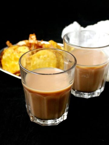 Vegan Cutting Chai, a spicy-sweet beverage from the streets of Bombay - holycowvegan.net