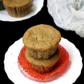 Almond Flour Chia Seed Muffins - holycowvegan.net