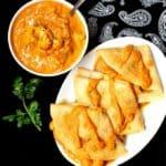 Cauliflower Makhani with Dosa Crepes - holycowvegan.net