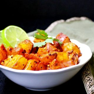 Masala Potatoes, Karwari Style (30-minute recipe)