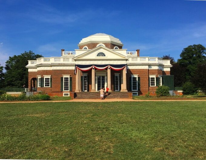 Monticello, home of Thomas Jefferson - holycowvegan.net