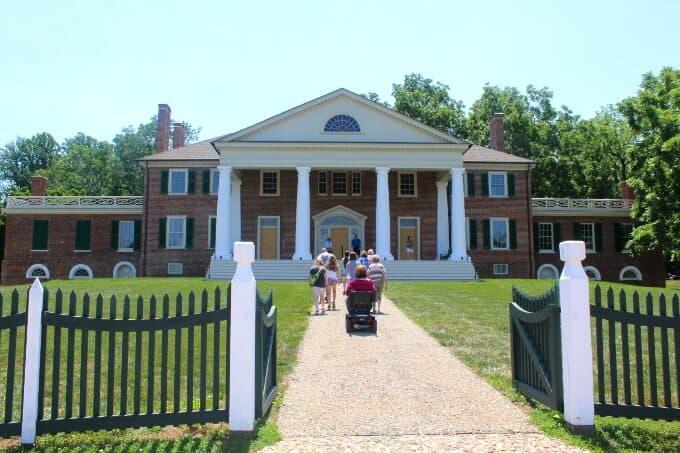Montpelier, Thomas Madison's home - holycowvegan.net