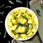 Jeera Aloo, Cumin Spiced Potatoes, vegan, GF - holycowvegan.net