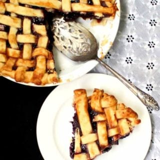 Vegan Cherry Pie - holycowvegan.net