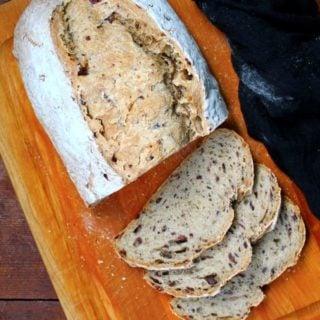 Sourdough Olive and Sage Loaf