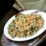 Vegan Creamy Chipotle Green Beans - holycowvegan.net