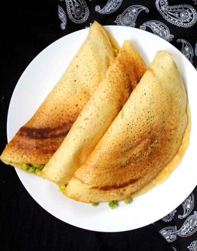 Instant Gluten-Free Masala Dosa, 15 minutes - holycowvegan.net