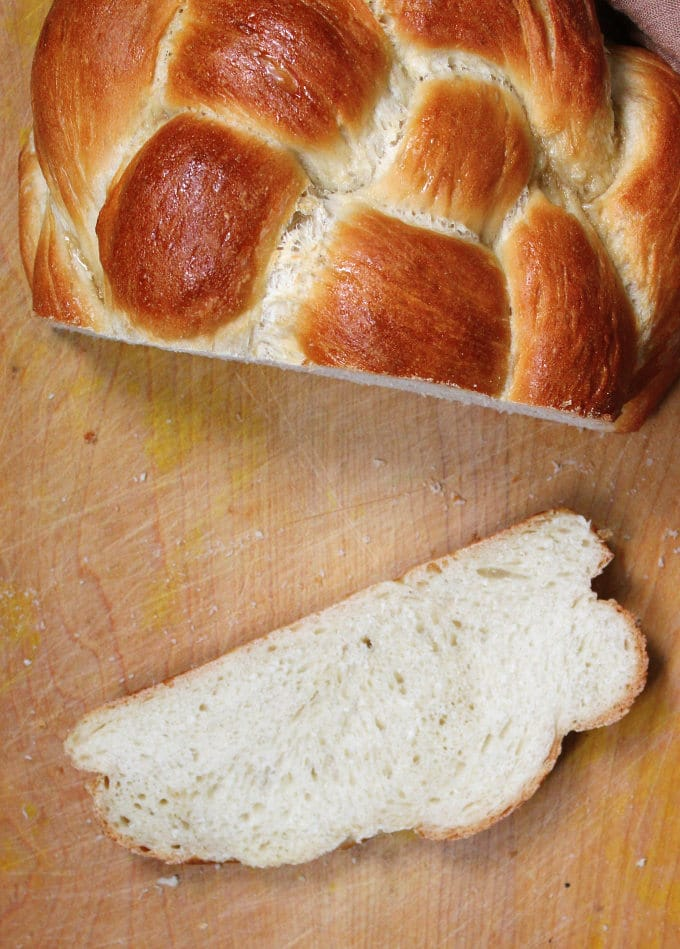Vegan Eggless Sourdough Challah - HolyCowVegan.net