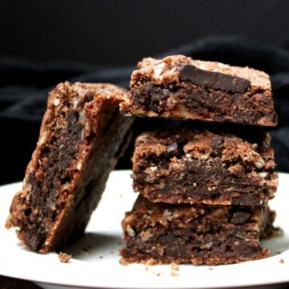 Chocolate Coconut Cookie Bars, vegan, gluten-free