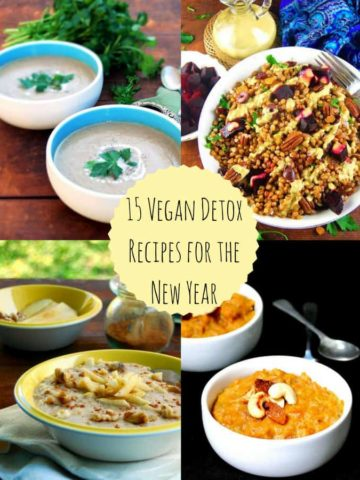 15 Vegan Detox Recipes for the New Year - holycowvegan.net