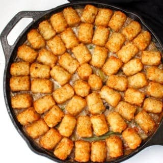 One-Pot Vegan Tater Tot Casserole