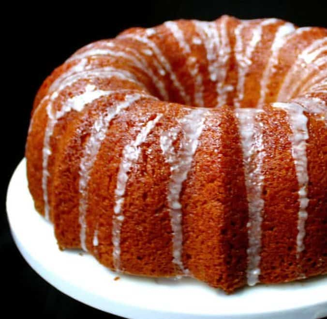 Vegan Meyer Lemon Bundt Cake