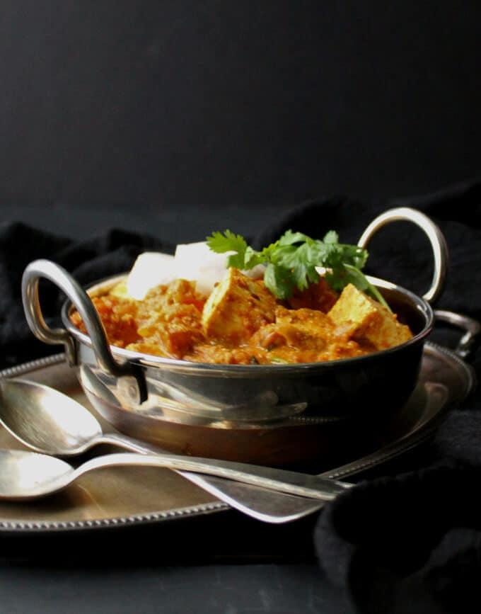 Kadai Tofu Paneer Holy Cow Vegan Recipes Easy Tasty