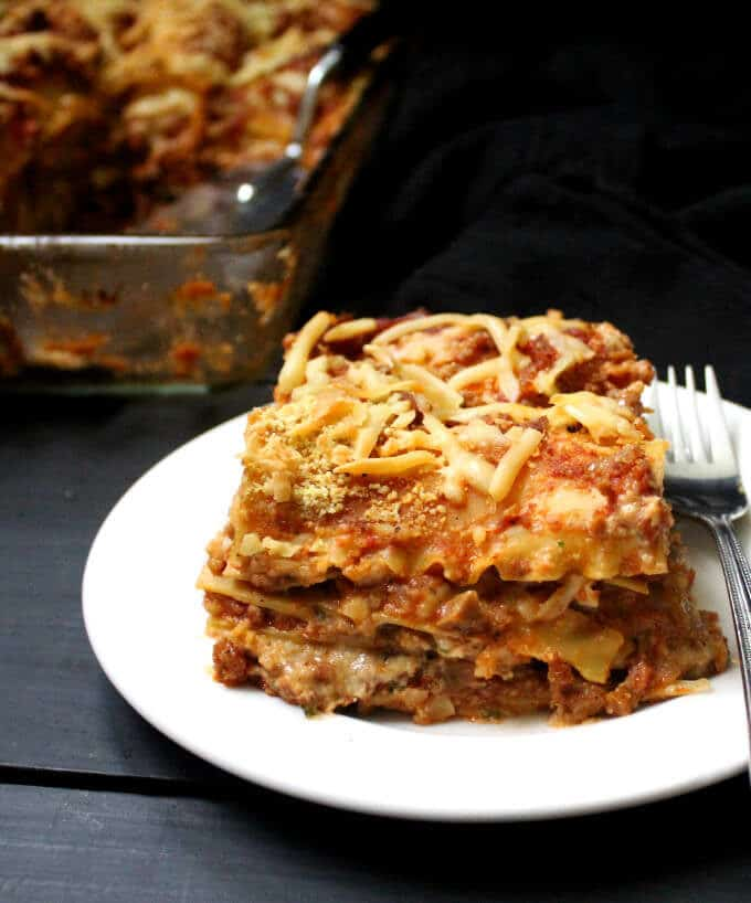 Classic Vegan Lasagna Recipe Holy Cow Vegan Recipes