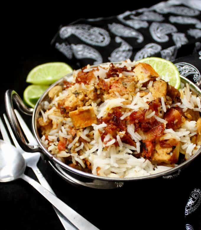 Vegetable Biryani in 30 minutes - Holy Cow! Vegan Recipes
