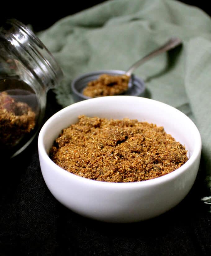 A flavorful homemade biryani masala spice mix that will reward you with delicious, fresh flavor for your biryani recipes. #spicemix #vegan #indian #masala HolyCowVegan.net