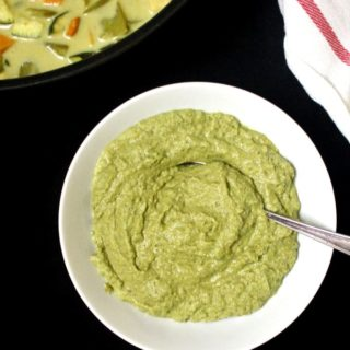 A fresh and aromatic Vegan Thai Green Curry Paste to make delicious dinners in a hurry