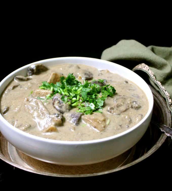 Vegan Malaysian Mushroom Korma