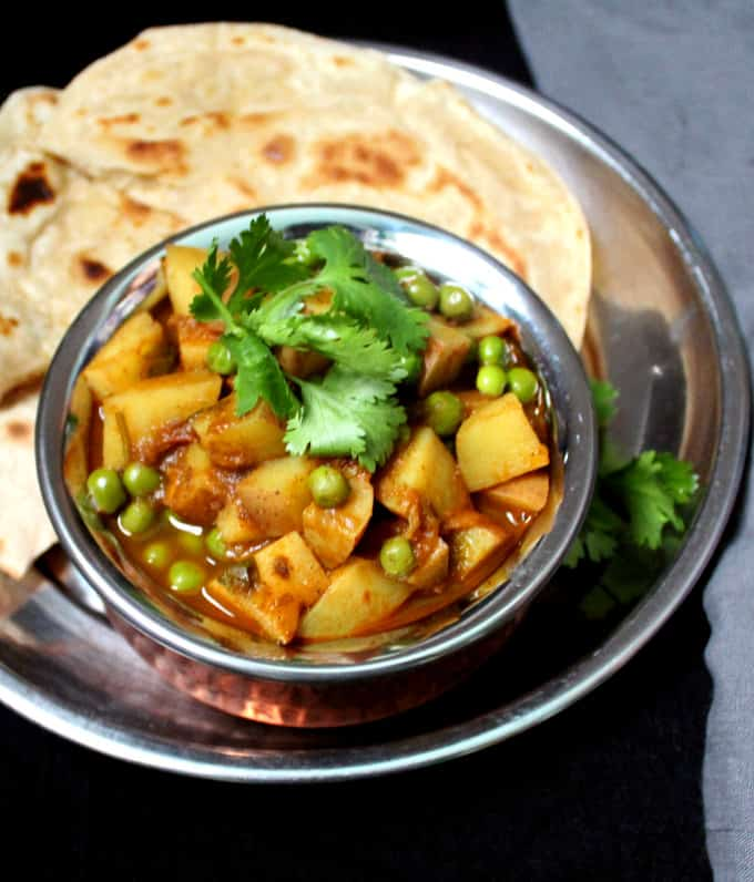 Easy Aloo Matar Holy Cow Vegan Recipes