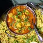 Easy spicy Potato Curry
