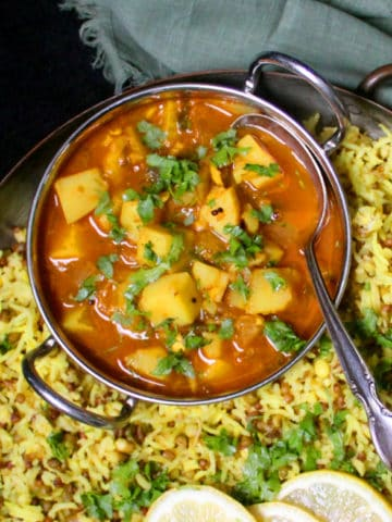 Easy spicy Potato Curry