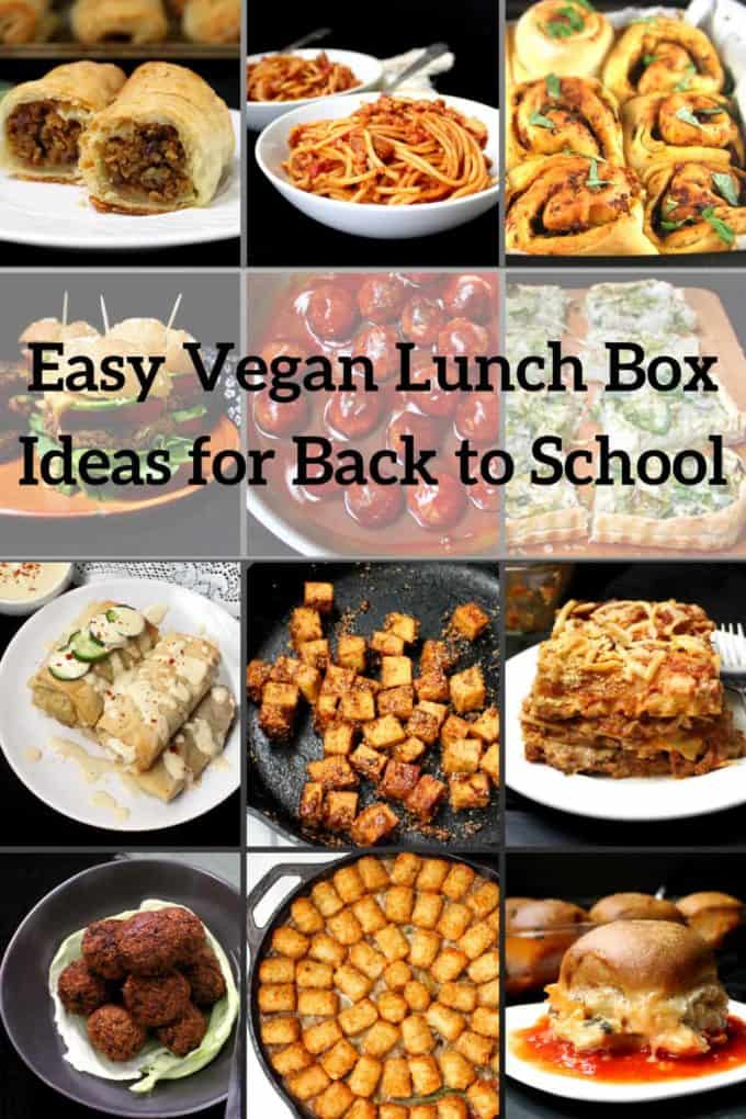 Easy Vegan Lunch Box Ideas for Back to School