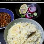 Jeera rice or Indian cumin rice, an aromatic rice with cumin hugging fluffy grains of basmati