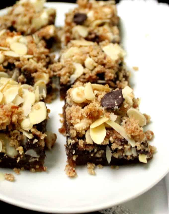 Photo of Vegan Layered Chocolate Chip Cookie Bars