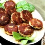 Aloo Tikki, golden and delicious potato patties or cutlets, Indian style