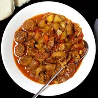 Vegan Goan Sausage Curry