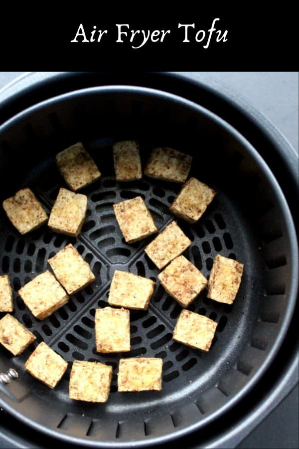 Air Fryer Tofu recipe, quick and easy
